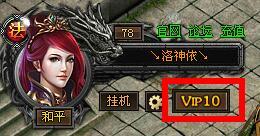 VIP特权按钮